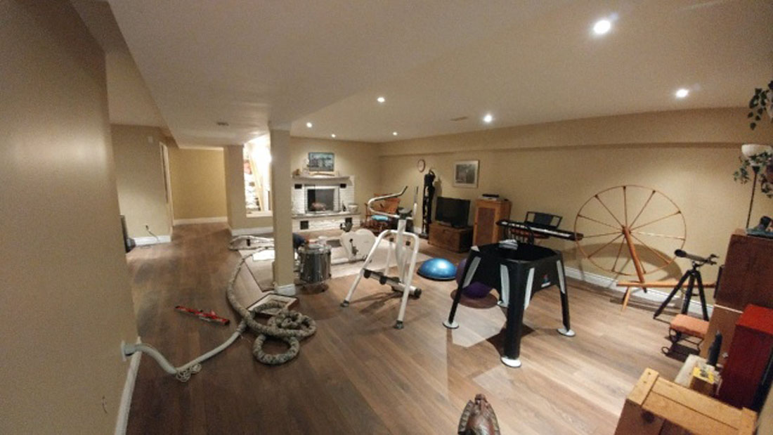 Modrun home fitness room